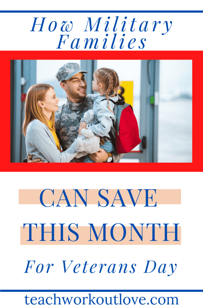 November is an important month when we are celebrating our military members and Veterans Day. Read on to see how you can save some money!