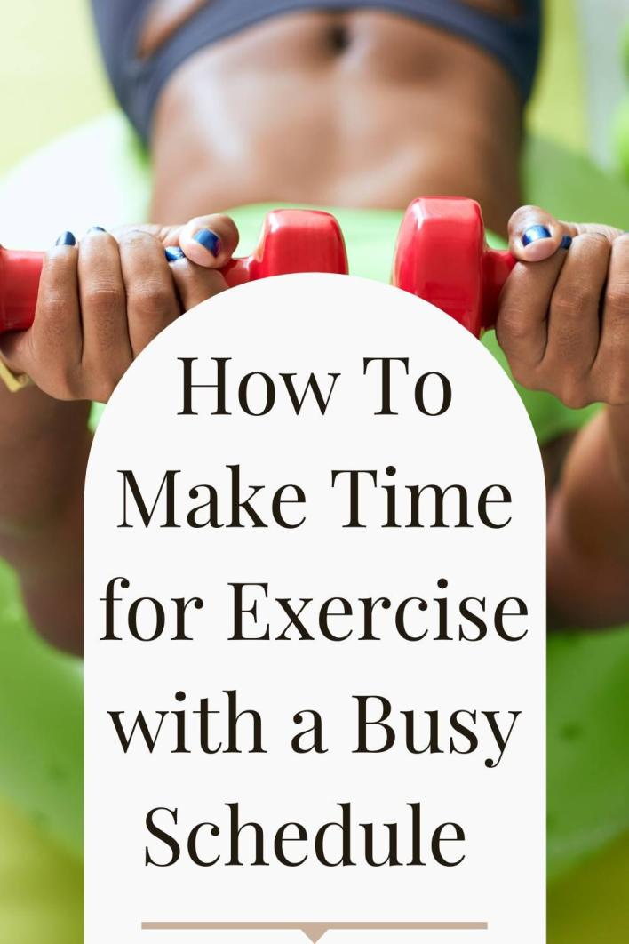 Most of us struggle with making time for exercise from time to time. Here are some promising strategies to keep your workouts in the rotation, no matter how busy you are.