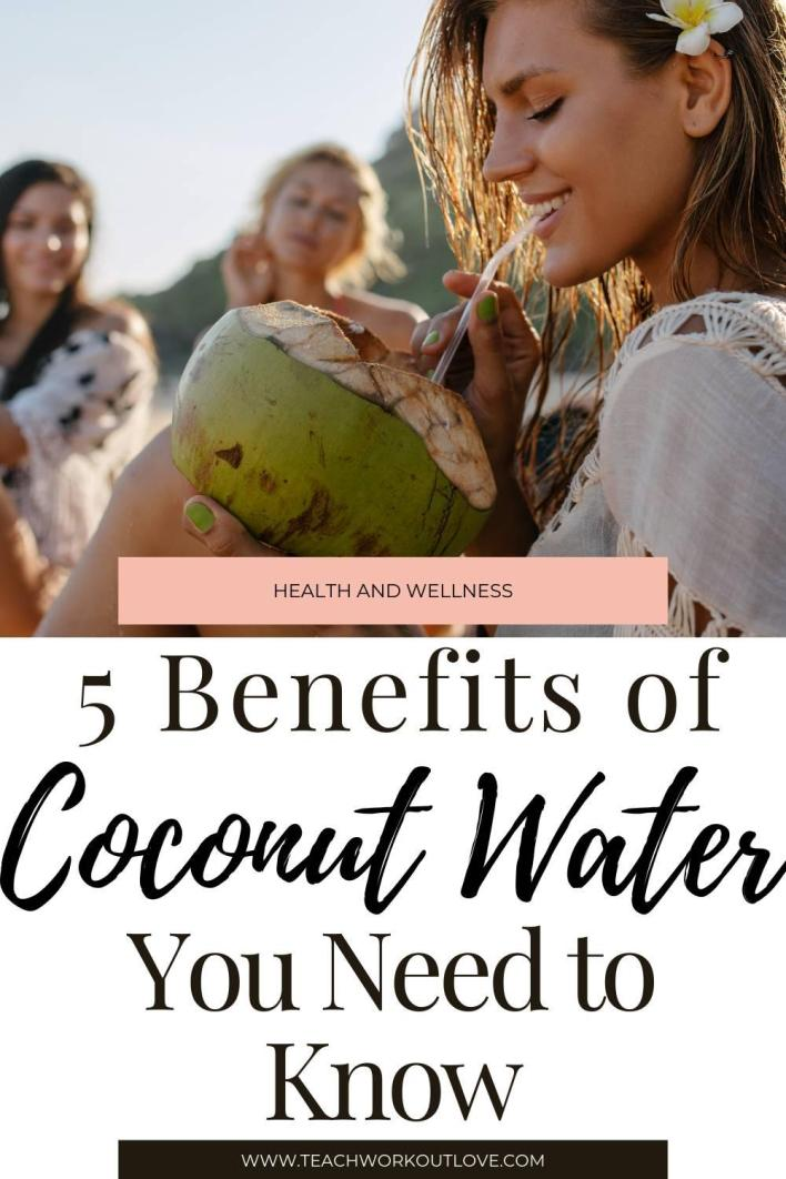 Lately, coconut water has been trending in the health and wellness space. Here are the top 5 coconut water benefits.