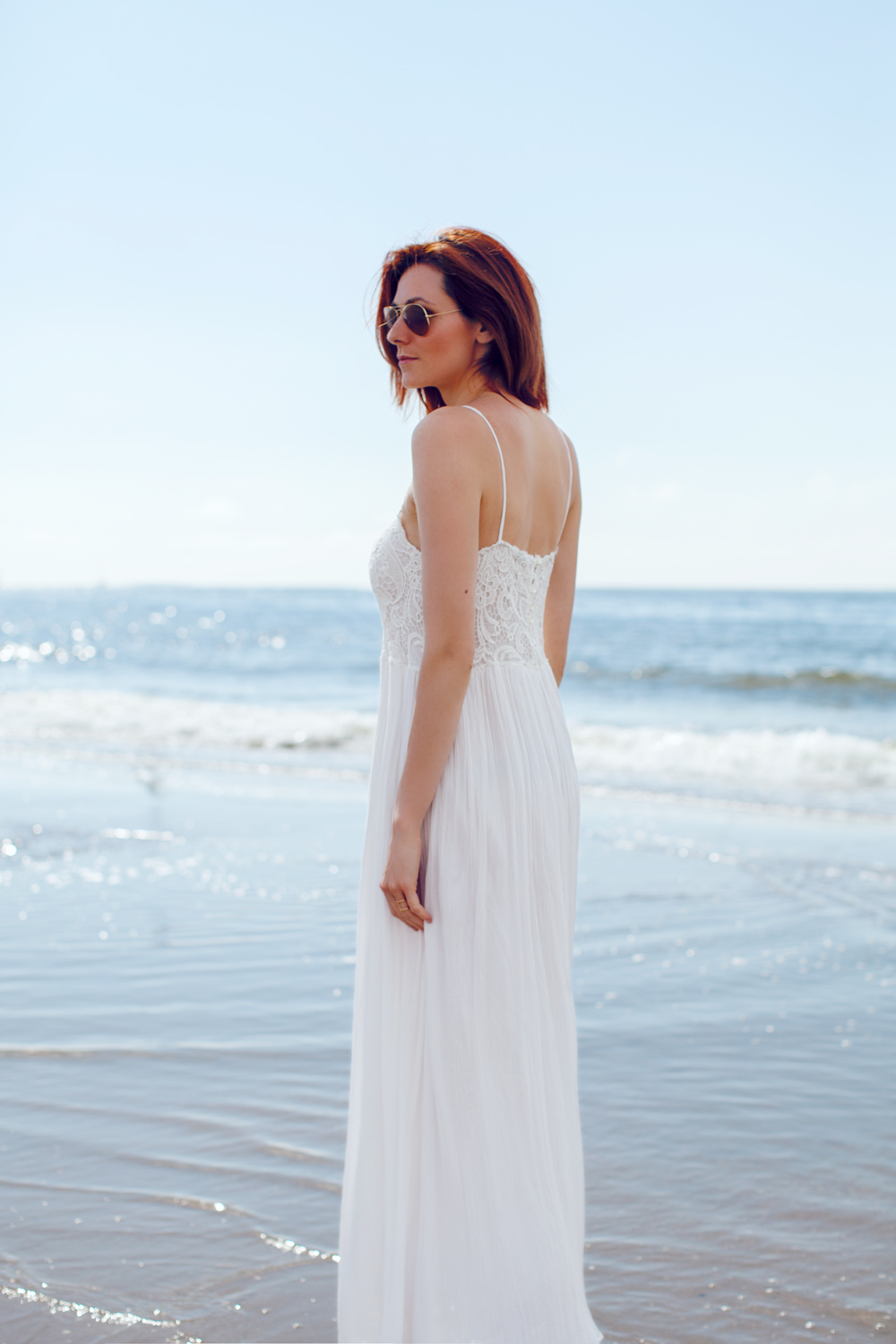 Maxi dress in the summer