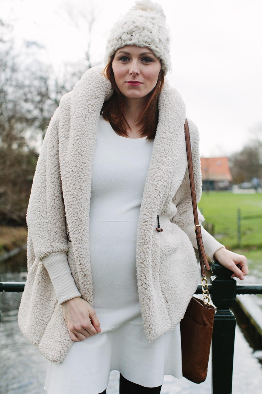 Chunky beanie and cozy jacket