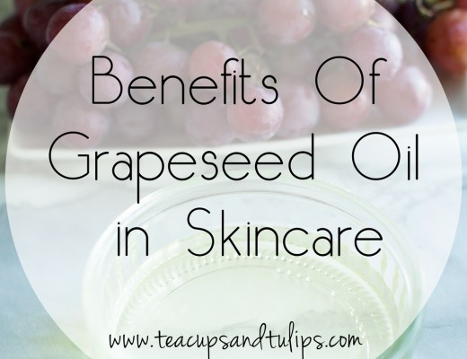 Benefits of grapeseed oil in skincare