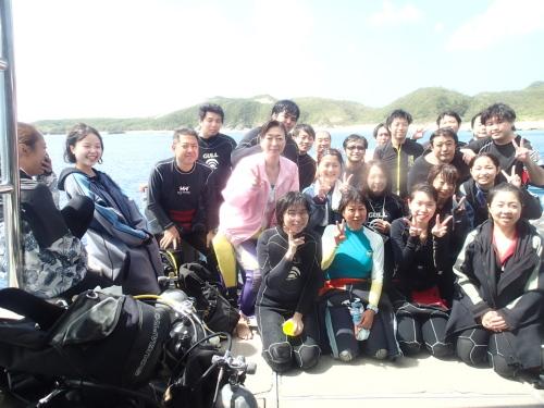 慶良間体験ダイビングツアー
