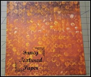 fancy textured paper