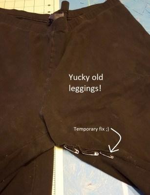 Old leggings