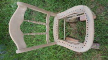 sandedchair