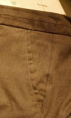 sew pockets down