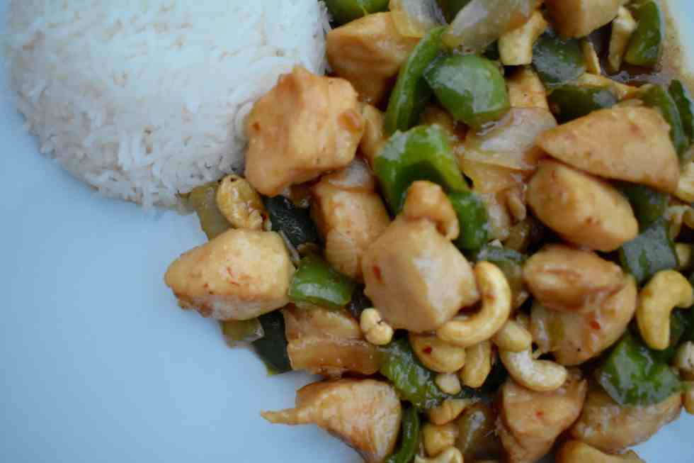 Quick and Easy Pakistani-Style Cashew Chicken