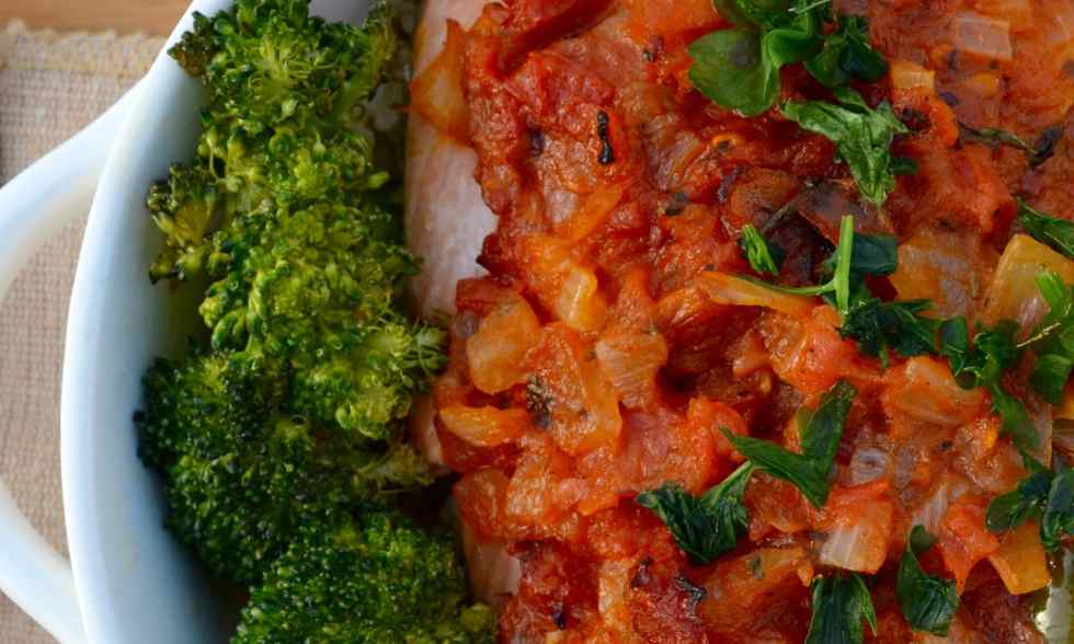 spicy creole style salmon