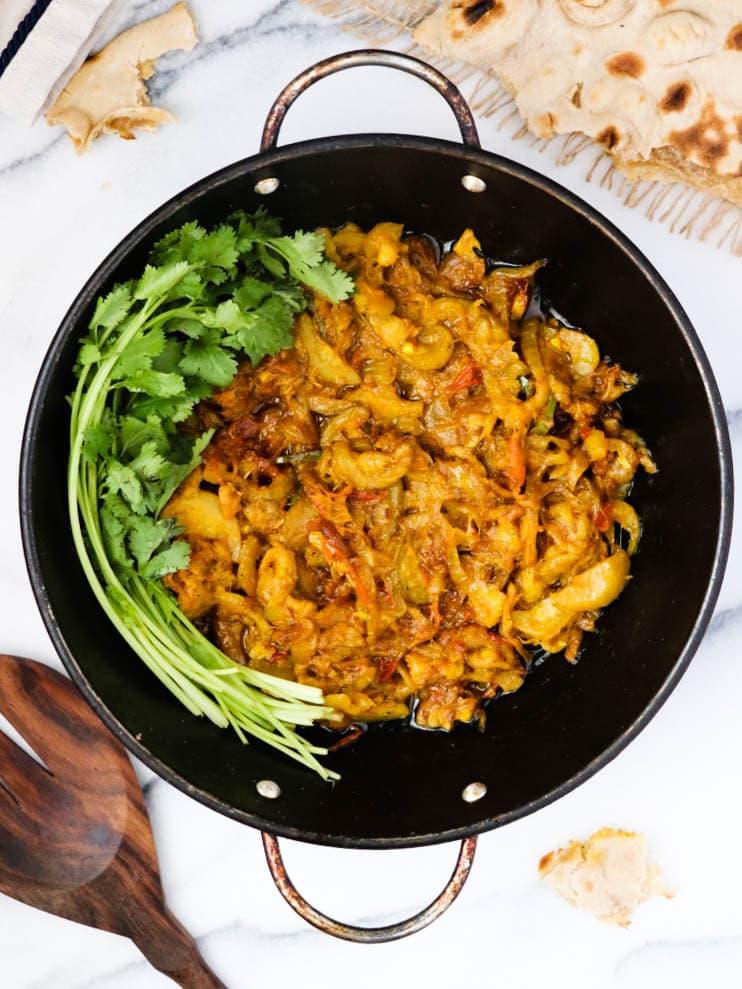 zucchini curry pakistani
