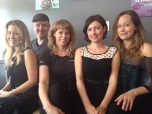 Heather, Mark, Niki, Misty, Jada