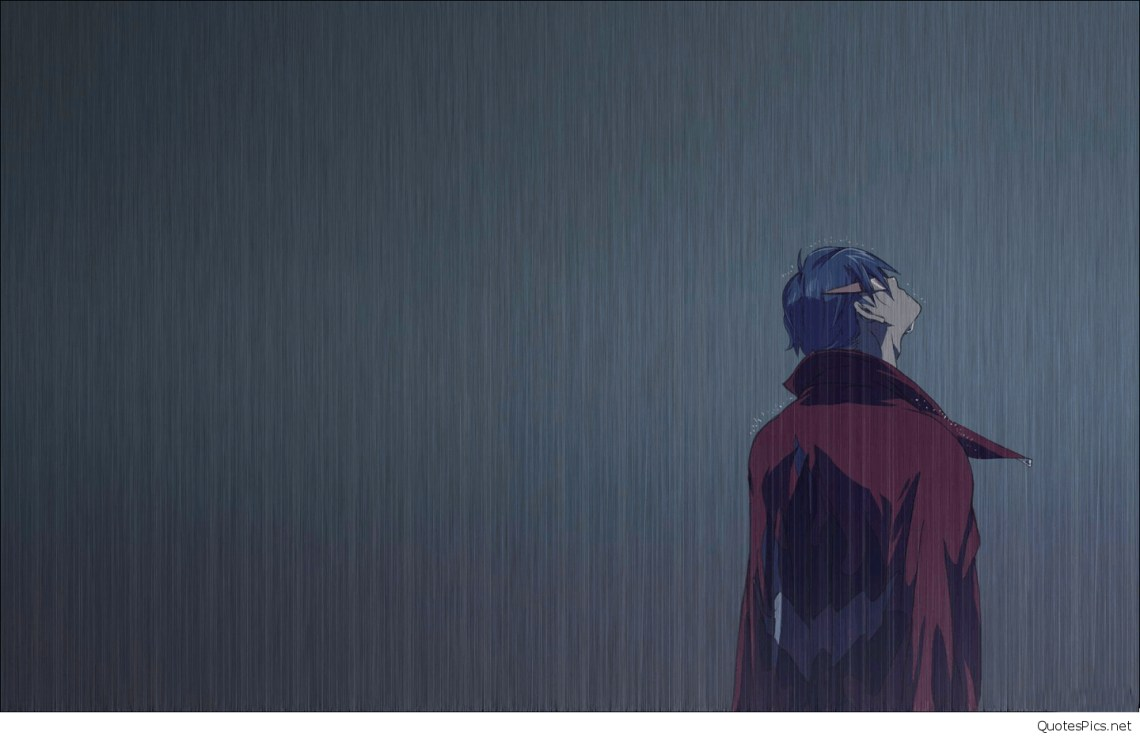 Sad Anime Boy Wallpaper Hd Anime 1440x930 Wallpaper Teahub Io