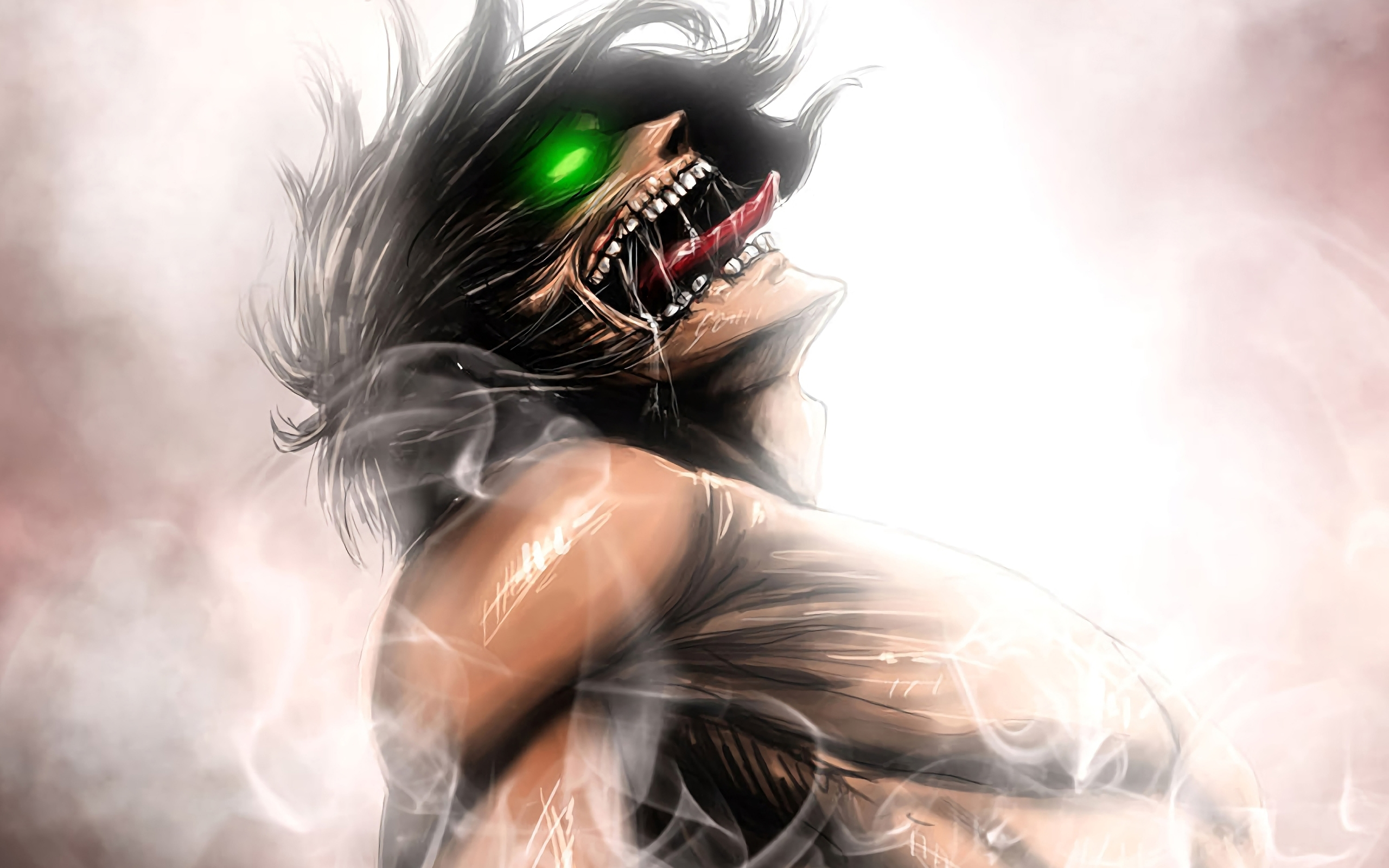 The tv adaptation of hajime isayama's critically acclaimed manga series attack on titan is one of the most popular shows among anime fans. Wallpaper Of Eren Yeager, Anime, Attack Of Titan ...
