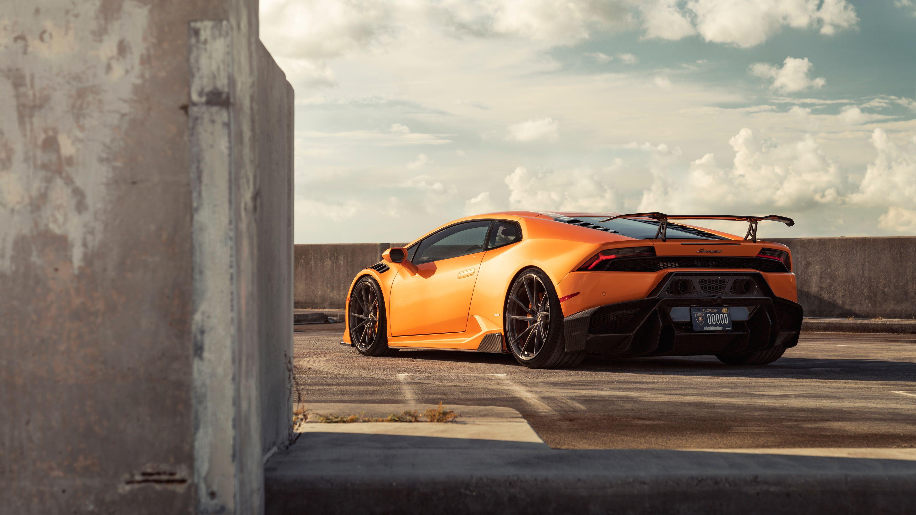 Chevrolet automotive wallpaper and high resolution images. Orange Lamborghini Wallpaper 4k 3840x2160 Wallpaper Teahub Io