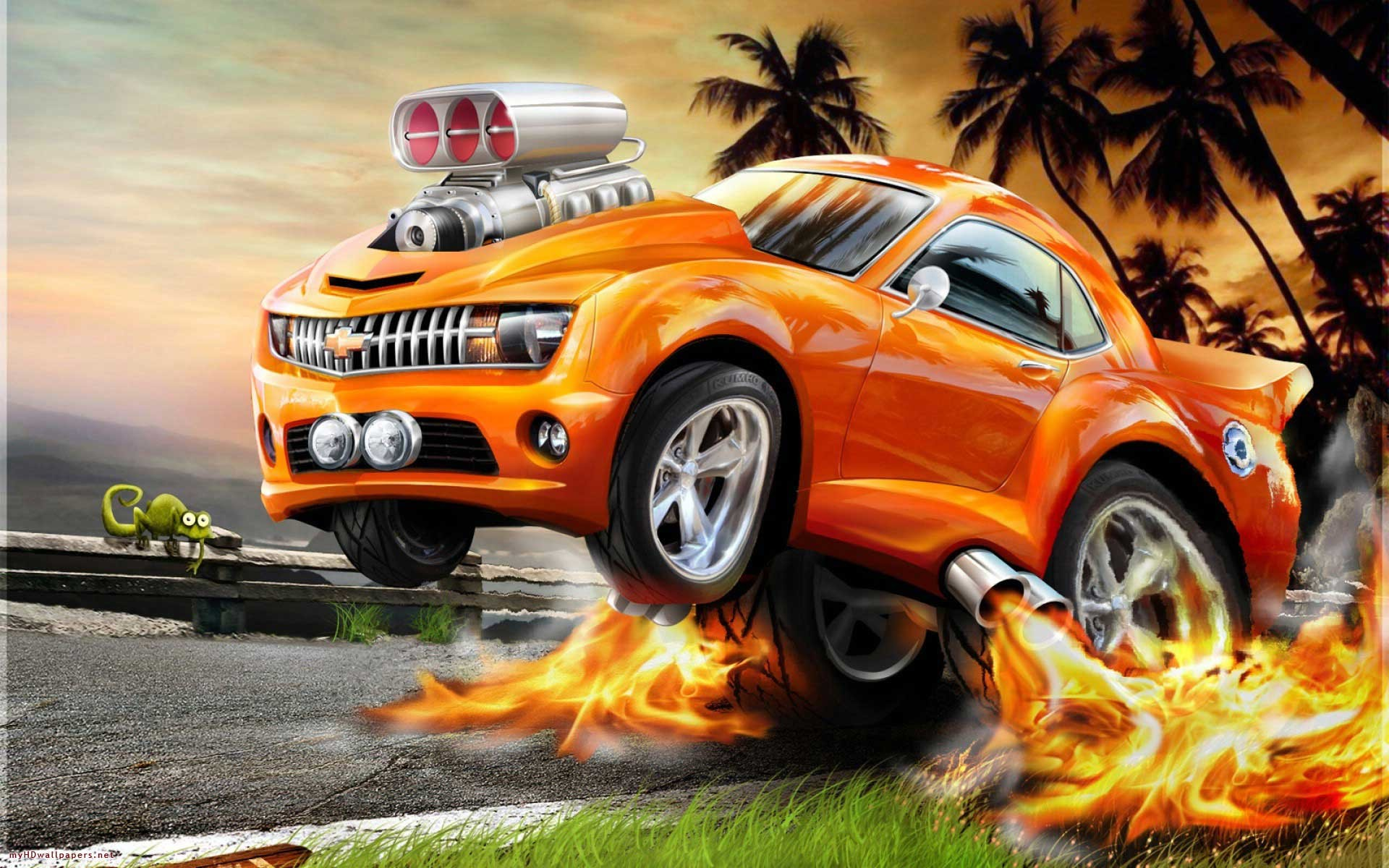 Wild animals are not creatures to be messed with, although there are many people in this world who think th. 3d Animated Car Wallpaper Data Src Download 3d Moving Hot Wheels Wallpaper 4k 1920x1200 Wallpaper Teahub Io