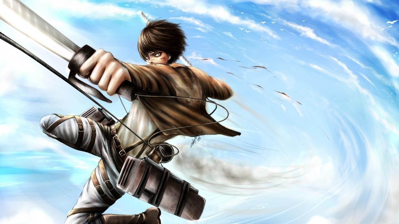 Attack on titan wallpaper, shingeki no kyojin, eren jeager, anime. Wallpaper Attack On Titan, Shingeki No Kyojin, Eren ...