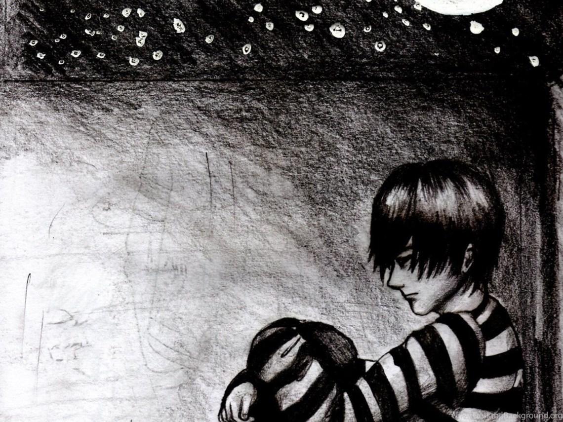 Sad Boy Anime Cry 1400x1050 Wallpaper Teahub Io
