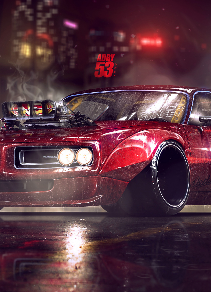 Annette 6 min quiz muscle cars are as america. Dodge Charger Muscle Car Artwork Wallpaper Mobile Muscle Car Wallpaper 4k 840x1160 Wallpaper Teahub Io
