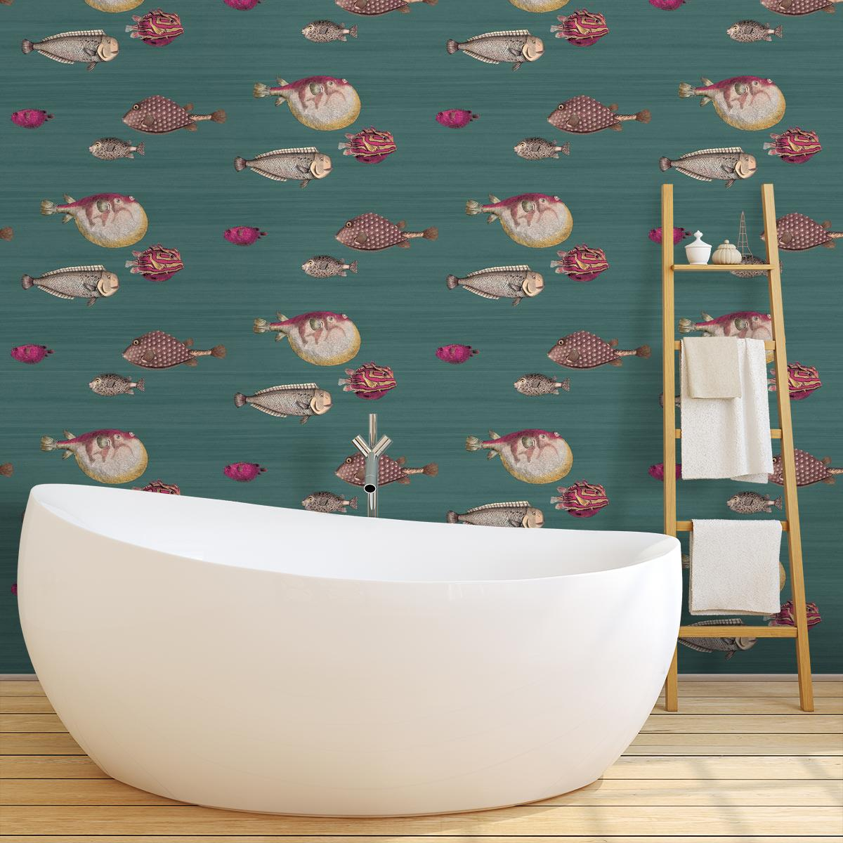 acquario wallpaper cole and son soot 97