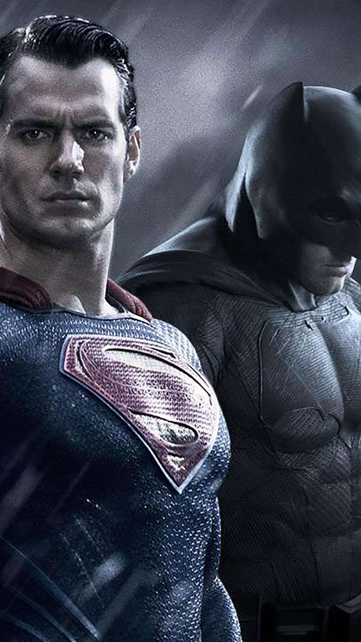 Wallpaper Hd Iphone Batman Vs Superman Free Download Superman Vs Batman 1242x2208 Wallpaper Teahub Io
