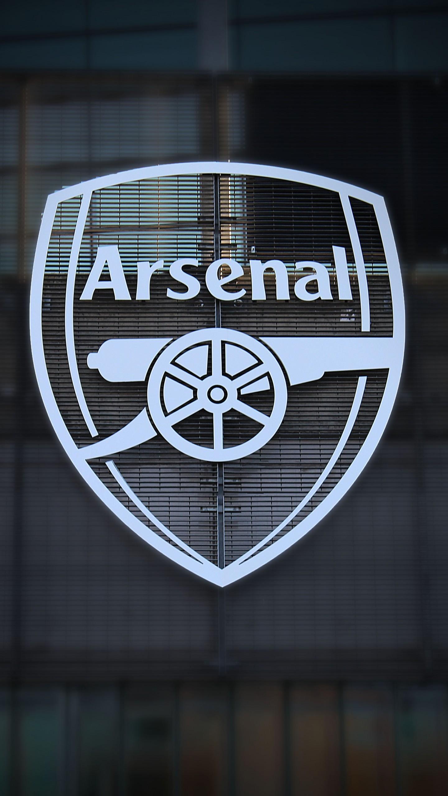 arsenal black and white logo