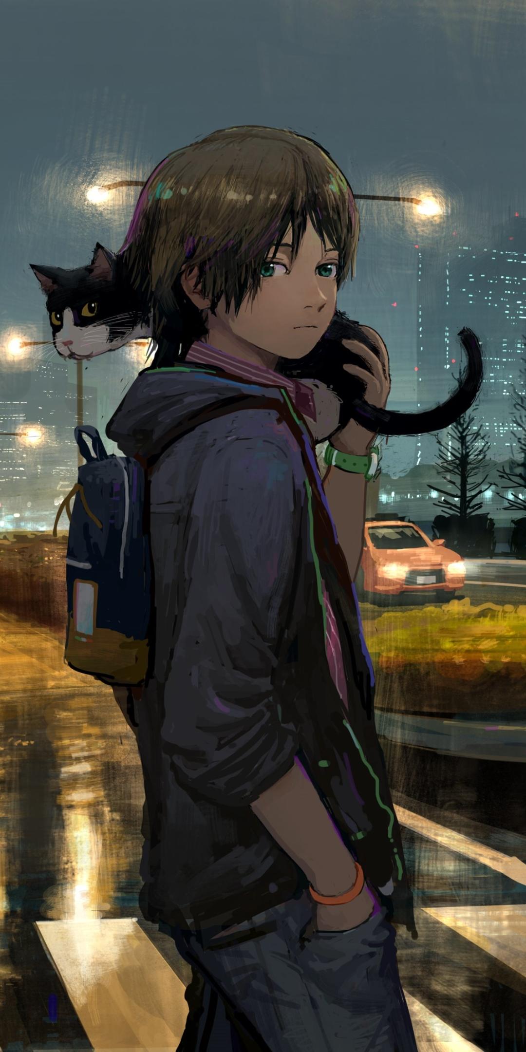 Boy Anime Wallpaper Phone 1080x2160 Wallpaper Teahub Io