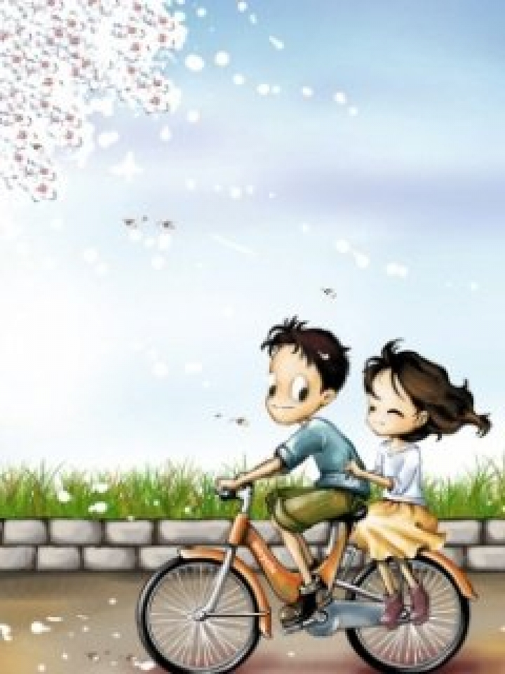 Cute Cartoon Couple Wallpapers For Mobile Love You Always All Ways 720x960 Wallpaper Teahub Io