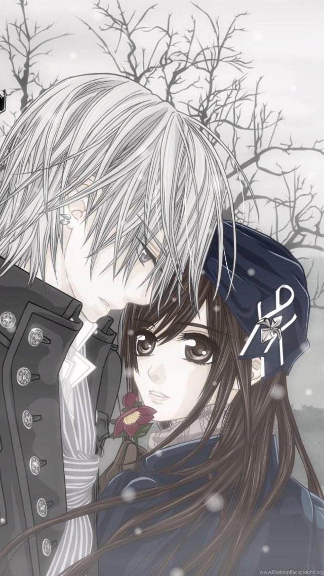 Cute Anime Couple Wallpaper Cute Anime Wallpaper Hd For Android 640x1136 Wallpaper Teahub Io