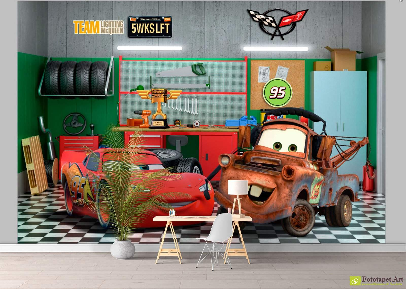 Skinzwraps™ now offers indoor wall murals and custom wall paper. our indoor wall murals and custom wall paper are ideal for large indoor wall spaces, where texturing is a consideration. Garage Car Wall Mural 1600x1140 Wallpaper Teahub Io