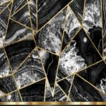 Black White And Gold Marble 754x1283 Wallpaper Teahub Io