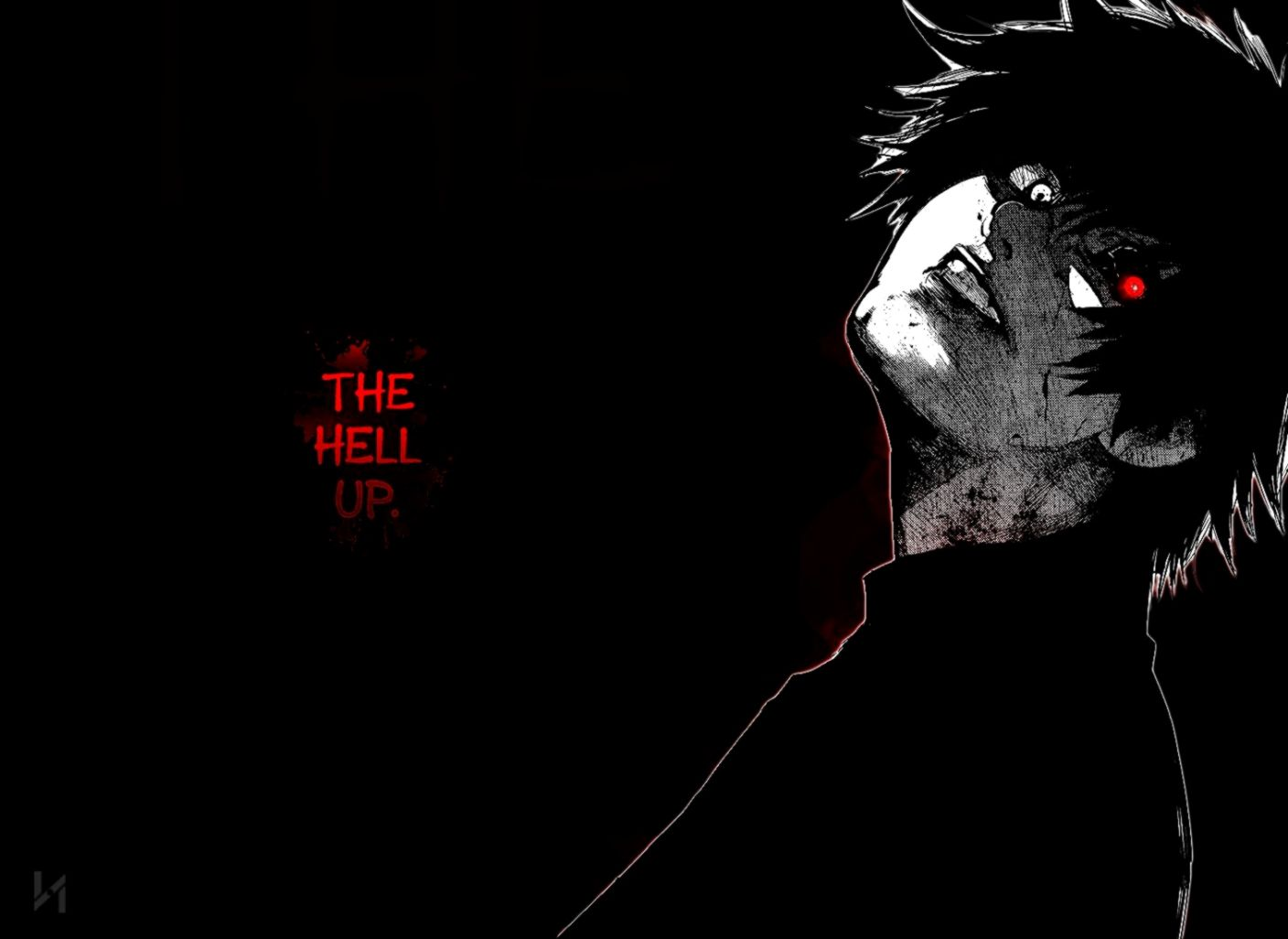 This article is a comprehensive guide for wallpapering around unusual spaces, like windows, archways, outlets, faceplates, fixtures, thermostats, and more. Tokyo Ghoul Black Wallpapers Hd Desktop And Mobile - Black ...