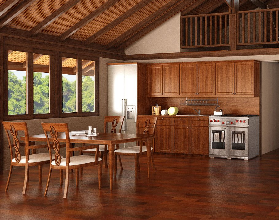 Quality Teak Wooden Kitchen Cabinets Teak Bali