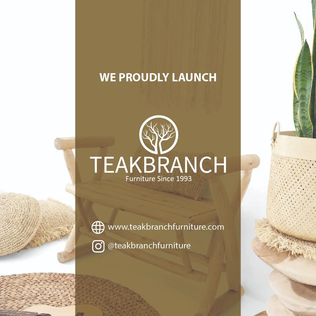 Lunching furniture products 2021 -Indonesia teak branch furniture