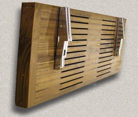 Teak Shower Steam Bath Seats Custom Teak Marine Woodwork