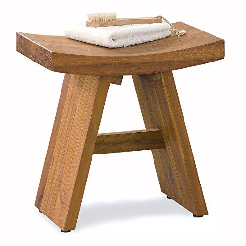 The Original Asia Classic Floor Sample Teak Shower Stool | Teak ...