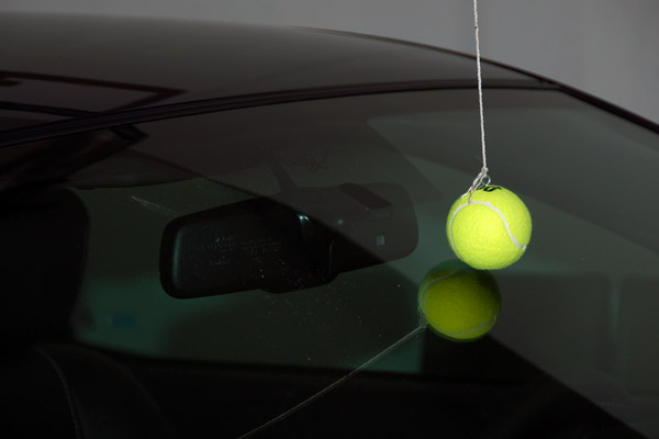 CAR-tennis ball