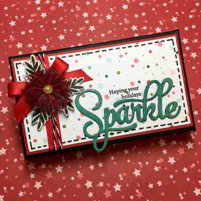 Papertrey December Blog Hop Challenge: Gift Box