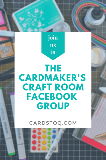 Are you a cardmaker? Are you looking for things to help you hone your skills and grow your presence online? Our new Facebook group shares ideas, inspiration, and opportunities to help you live your best crafty life. We would love to meet you! #cardmaking #handmadecards