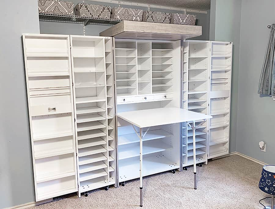 Creating a Craft Room #2: The Great DreamBox Build