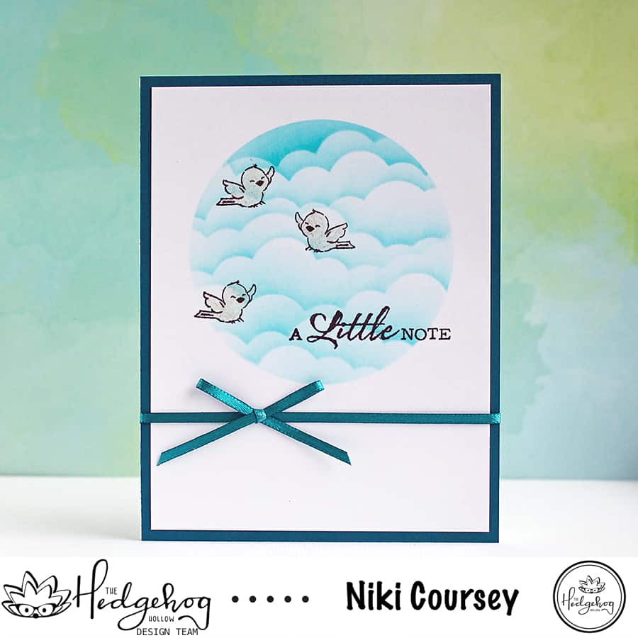 Making A Quick & Easy Card With Stamp Masking Paper