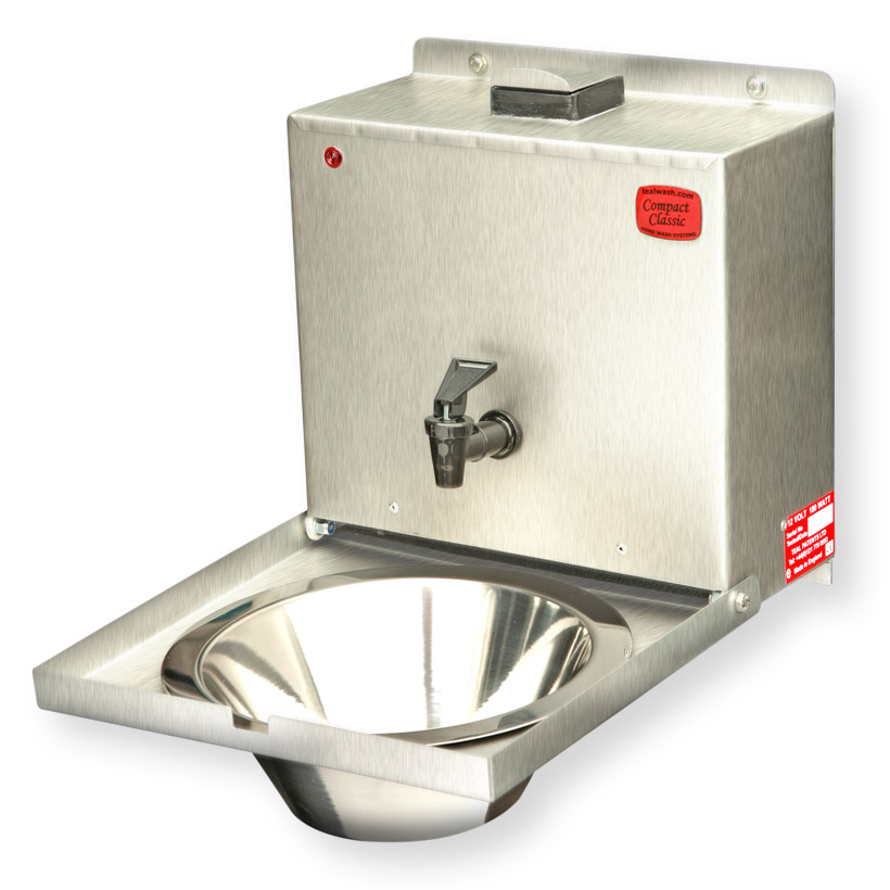 Compact Classic stainless steel wash basins for vehicles1