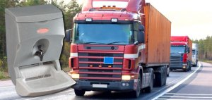 Mobile sinks for truck drivers