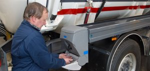 TEALwash mobile sinks for truck drivers