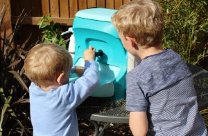 Take a Kiddiwash mobile sink on a day out in the country
