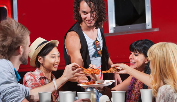 Street food is on the rise in the UK