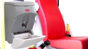 TEALwash mobile hand wash basins feature in southern Africa ambulance fleet