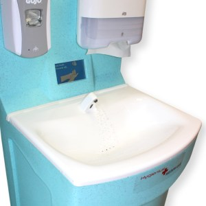 New MediWash portable hand washing for hospitals 2