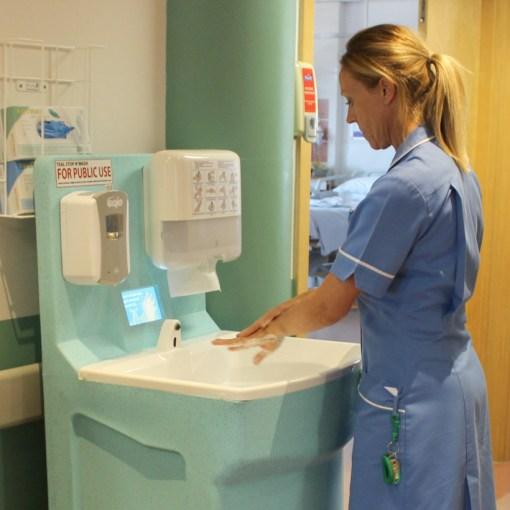 New MediWash portable hand washing for hospitals 7