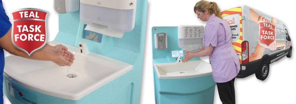 TEAL Task Force hand hygiene service