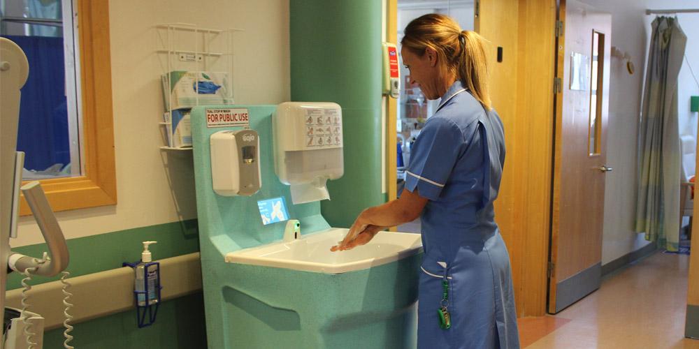TEAL Mediwash portable hand wash station